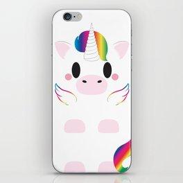 Unicorn Block iPhone Skin