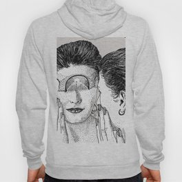 Reflection and questions Hoody