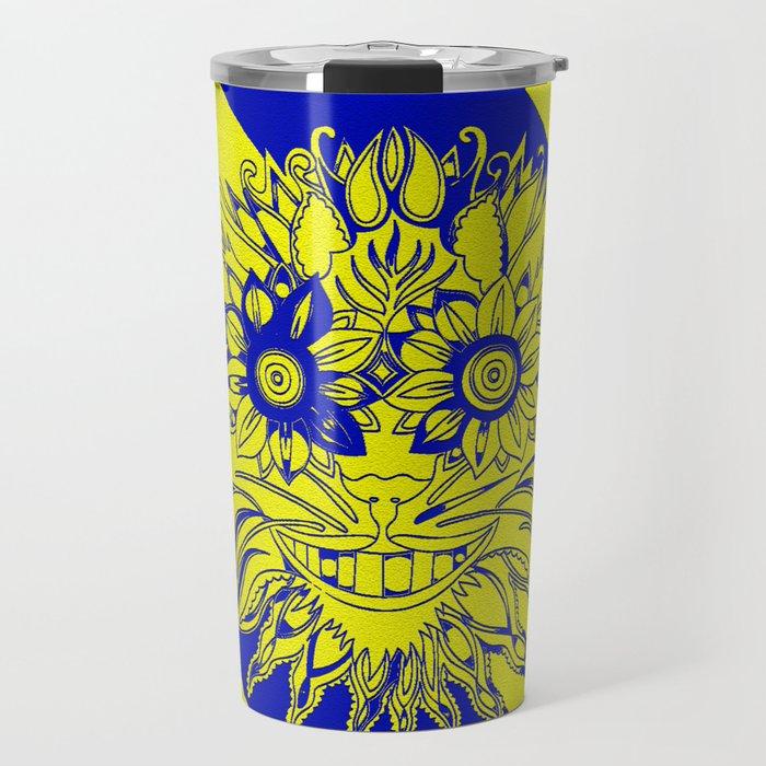 Mystic Yellow Travel Mug
