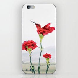 Carnation (r)evolution iPhone Skin