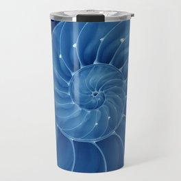 Malibu Blu Mood - Chambered Nautilus  Travel Mug