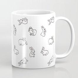 Bunny Pattern 01 Coffee Mug