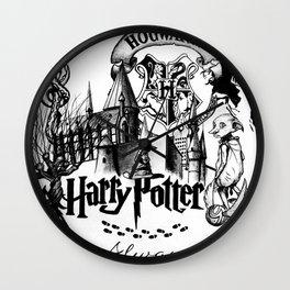 HP Drawing Wall Clock