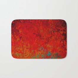 Figuratively Speaking, Abstract Art Bath Mat
