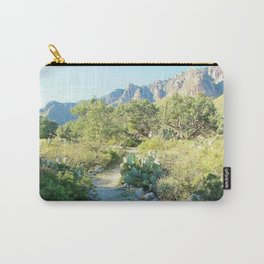 Guadalupe Mountains National Park - Walk of Solitude Carry-All Pouch