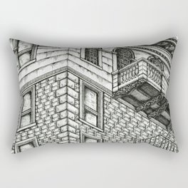 Los Angeles Architecture Rectangular Pillow