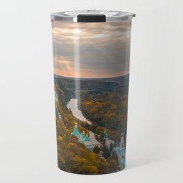 Holy Mountains Monastery (Ukraine) Travel Mug