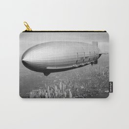 Airship over New York Carry-All Pouch