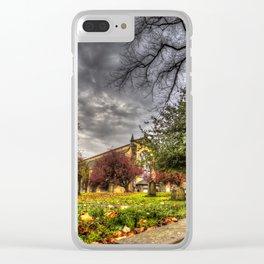 Greyfriars Kirk Church Edinburgh Clear iPhone Case