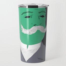 Stache man Travel Mug