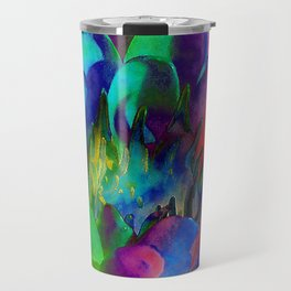 Lilly Psychedelic Travel Mug