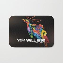The Phoenix | You Will Rise Bath Mat
