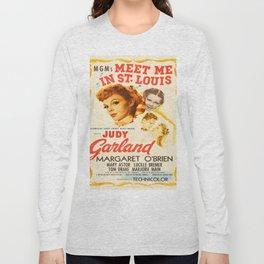 Vintage poster - Meet Me in St. Louis Long Sleeve T-shirt