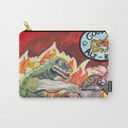 Godzilla vs The Nazis Carry-All Pouch