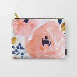 Genevieve Floral Carry-All Pouch