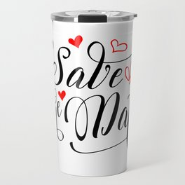 Save the date Travel Mug
