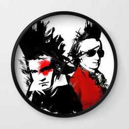 Beethoven Mozart Punk Composers Wall Clock