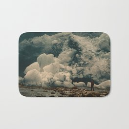 """Kjenndalsbreen Glacier Norway"" Bath Mat"
