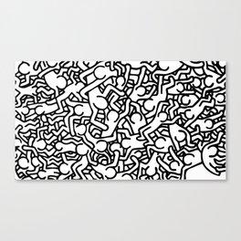 Keith H. #5 Canvas Print