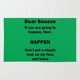 Dear Sneeze Rug