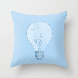 Ideas Grow Throw Pillow