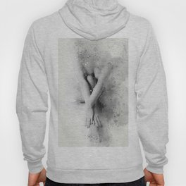 Naked Yoga Watercolor Hoody
