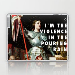 Jean Auguste Dominique Ingres, Joan of Arc at the Coronation of Charles VII (1854) / Halsey, Hurrica Laptop & iPad Skin