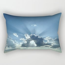 Footprints in the Sand Rectangular Pillow