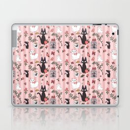 Jiji Cat Pattern Laptop & iPad Skin