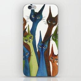Cordoba Whimsical Cats iPhone Skin