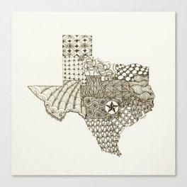 Lone Star State Canvas Print