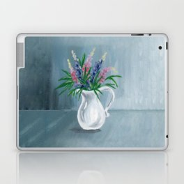 Pitcher of Lupins Laptop & iPad Skin