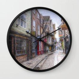 The Shambles York Art Wall Clock