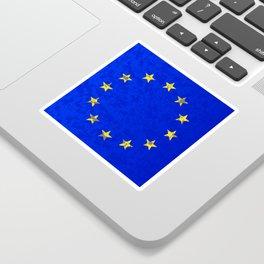 EU Flag Sticker