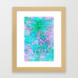 Pangea Framed Art Print