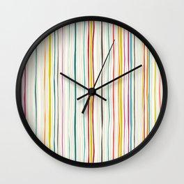 love stripe Wall Clock