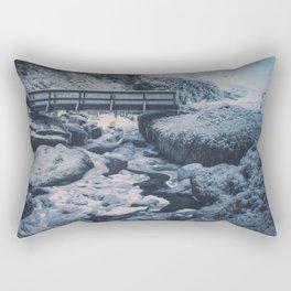 Cold Start Rectangular Pillow