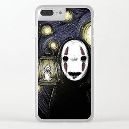 kaonashi Clear iPhone Case