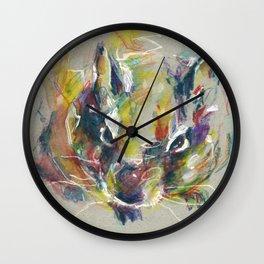 Cute degu Wall Clock