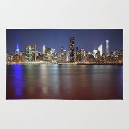 Manhattan From Gantry Park Rug