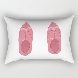 Pink Brogues  Rectangular Pillow