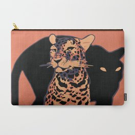 Retro vintage Munich Zoo big cats Carry-All Pouch