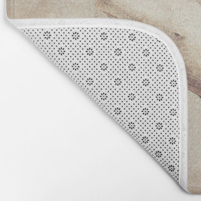 Far and Wide (sepia option) Bath Mat
