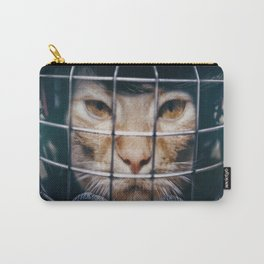 Le hockey cat - 10th life Carry-All Pouch