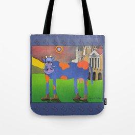 Udderly Frank - Funny Cow Art Tote Bag
