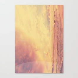 Cloudy Canvas Print