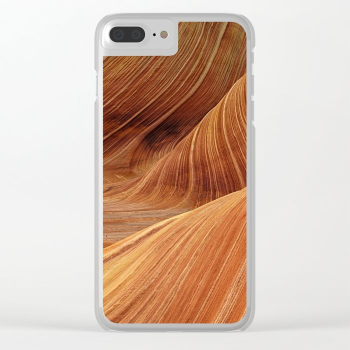 Sandstone Clear iPhone Case