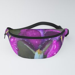 Sacred Trilogy: Water Irises Fanny Pack