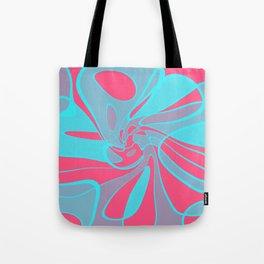 Blue Squabble Tote Bag