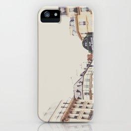 Place Sartre Beauvoir iPhone Case